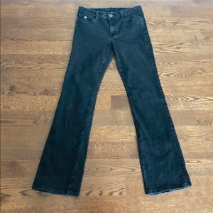 Banana Republic Black Boot Jeans Sz 29